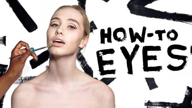 Fall Beauty How-To: Graphic Eye