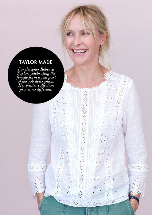 G&F BLOG_5MinutesWith Rebecca Taylor