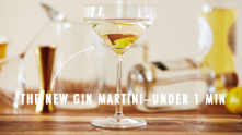 "We asked nightlife and mixology guru Benjamin Newby to mix up some fun for us. The result? Three classic cocktails that every sophisticated gent should not only know—but can shake and stir under the gun.  Coming in at 58 seconds (yes, 58!), Benjamin swizzles up one handsome martini. ""If I am discovering a new gin, the first thing I do is make a martini with it to bring out the subtlety of the botanicals,"" Benjamin explains. Although a lavender-forward gin may be the key to a classic martini, he says the most important thing is to have fun and don't be afraid make mistakes."