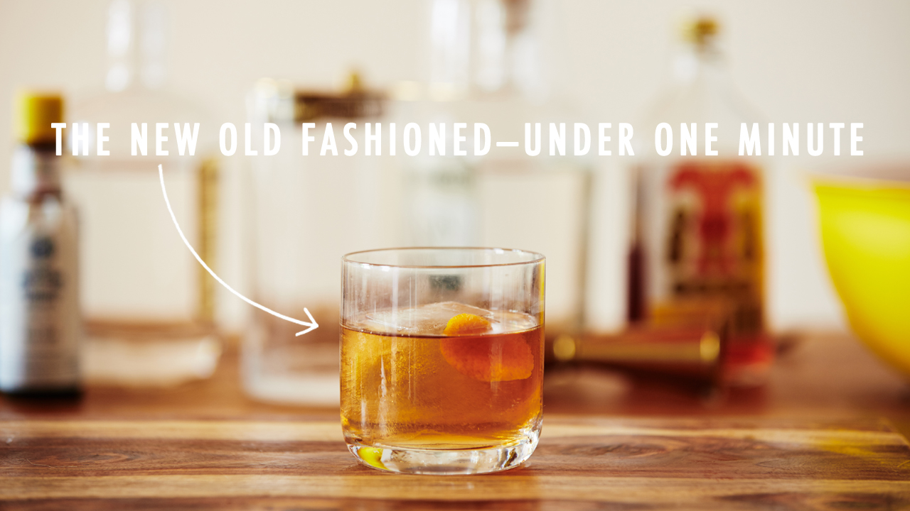 Quick Mix! The Old Fashioned
