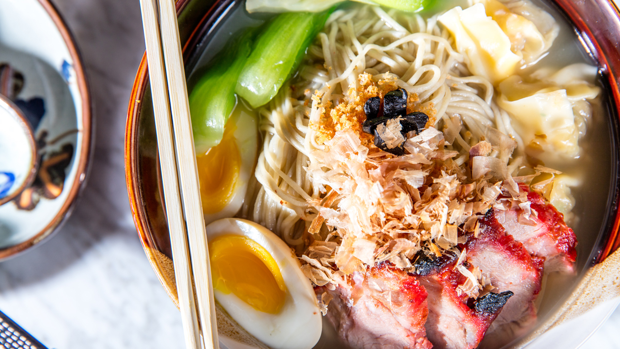 Using our noodles with Imperial Lamian