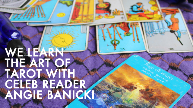 Getting (Tarot) Carded with Angie Banicki