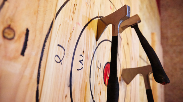 Kickin' Axe with Bad Axe Throwing