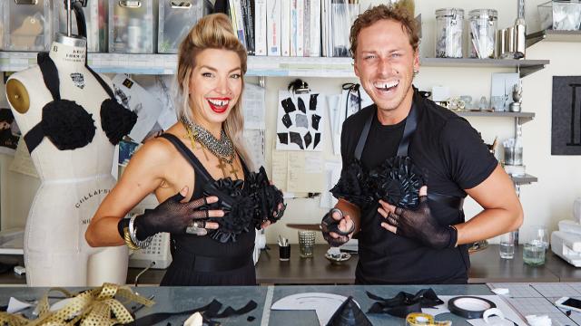 G&F Halloween: Madonna Cone Bra DIY