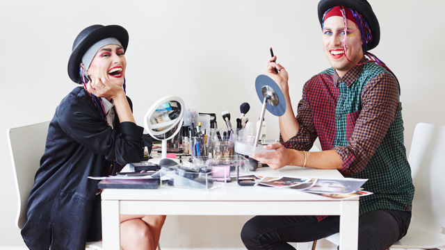 G&F Halloween: Boy George Makeover