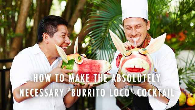 G&F Travel Mexico: Burrito Loco!
