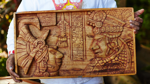 G&F Travel Mexico: Mayan Woodcarving